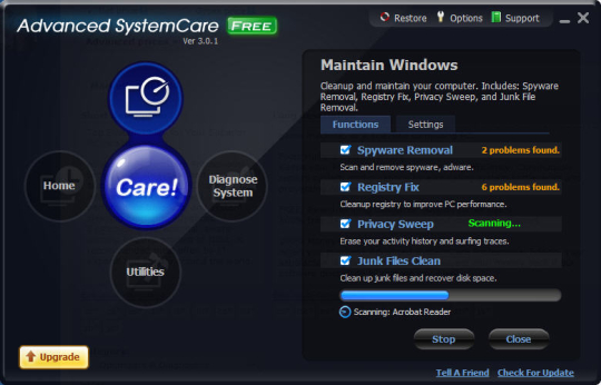Advanced SystemCare Free