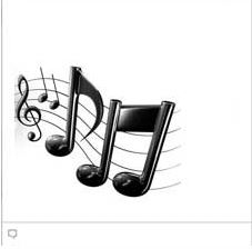 Music notes facebook emoticon