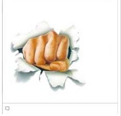 Fist facebook emoticon