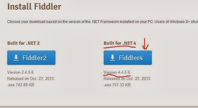 fiddler for windows 8