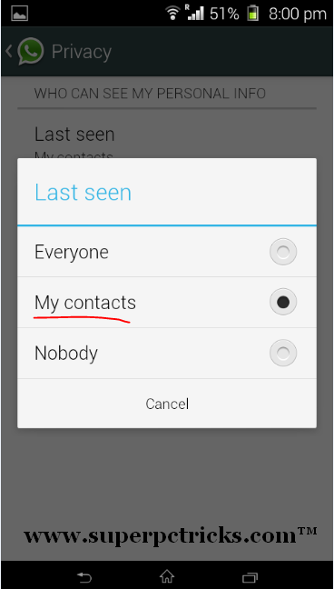 new whatsapp features disable last seen