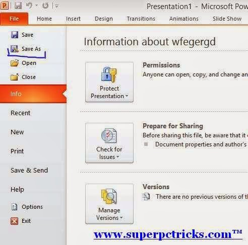 Password Protect your MS word Files
