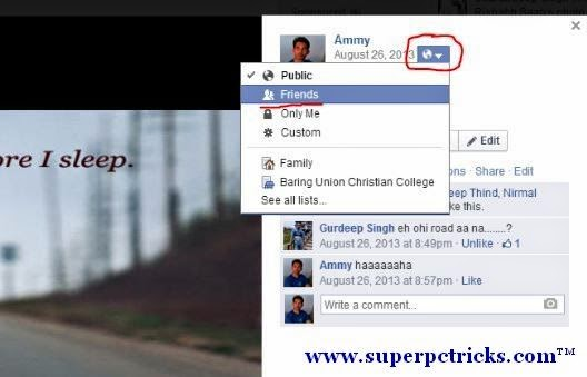 Now You can Change Who can See Your old Cover Photos in Facebook