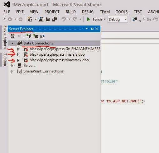 visual studio-entity framework error