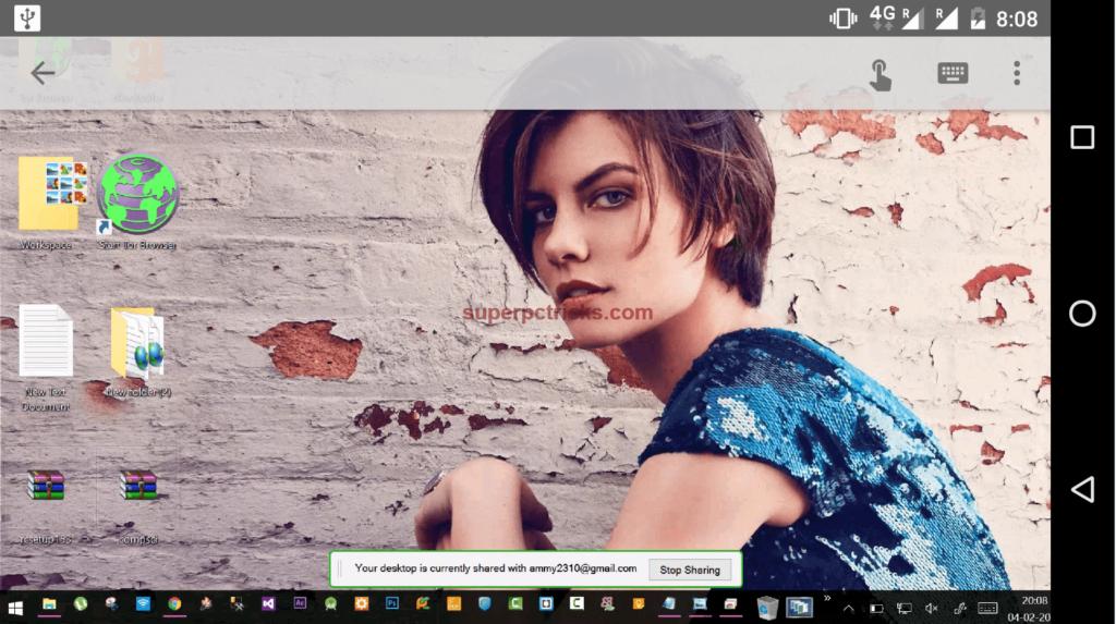 chrome remote desktop pc